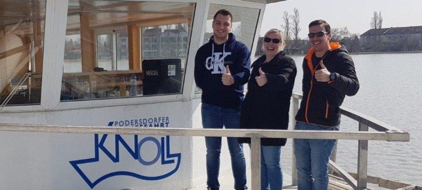 Schifffahrt Knoll am Neusiedlersee