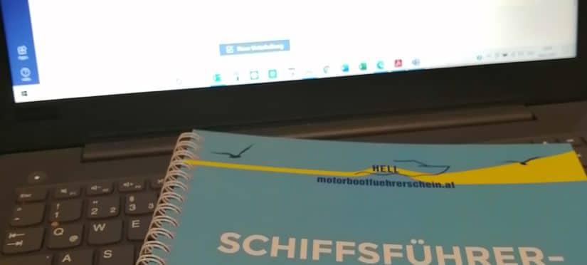 Onlinekurs Schiffsführerschule Hell